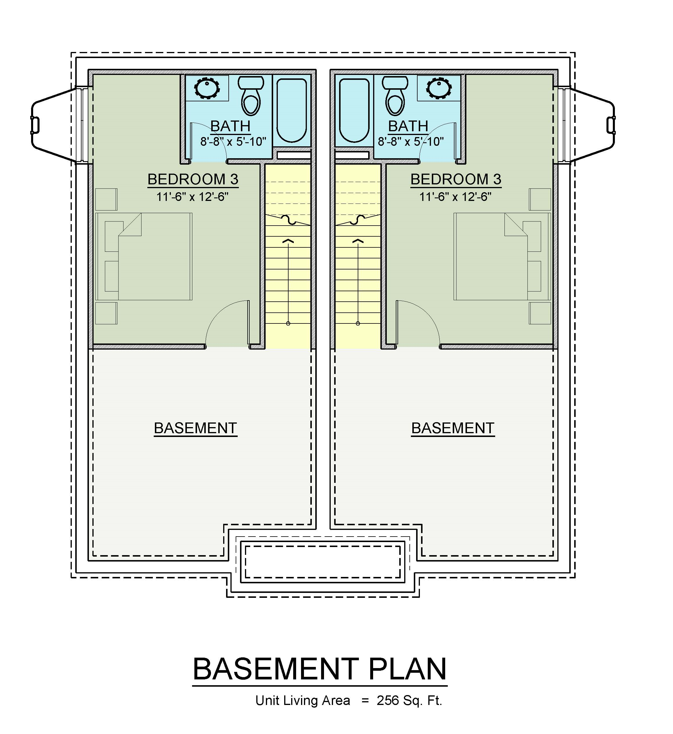 Basement Master Suite Floor Plan Geneseo Apartments New Off Campus Townhomes